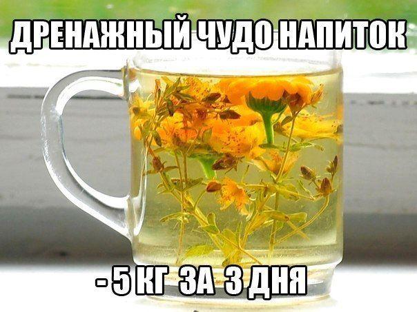 Дренажный напиток.   Вкусные блюда на каждый день