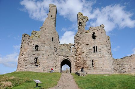 The Gatehouse of Dunstanburgh Castle