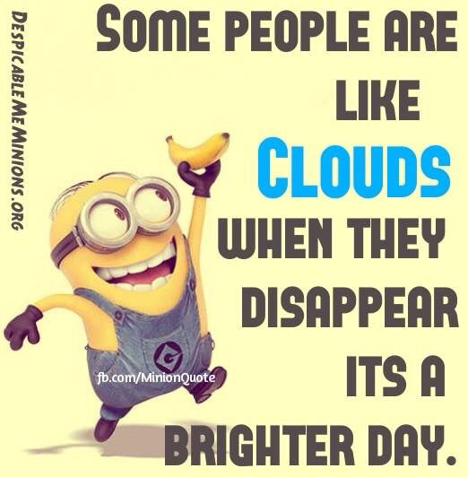 Clouds, minion