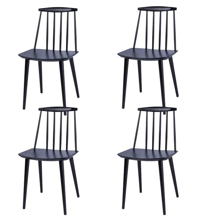 Pinnstol J77 fra Hay, designet av Folke Pålsson. Grunnideen bak stolen var en funksjonalistisk...