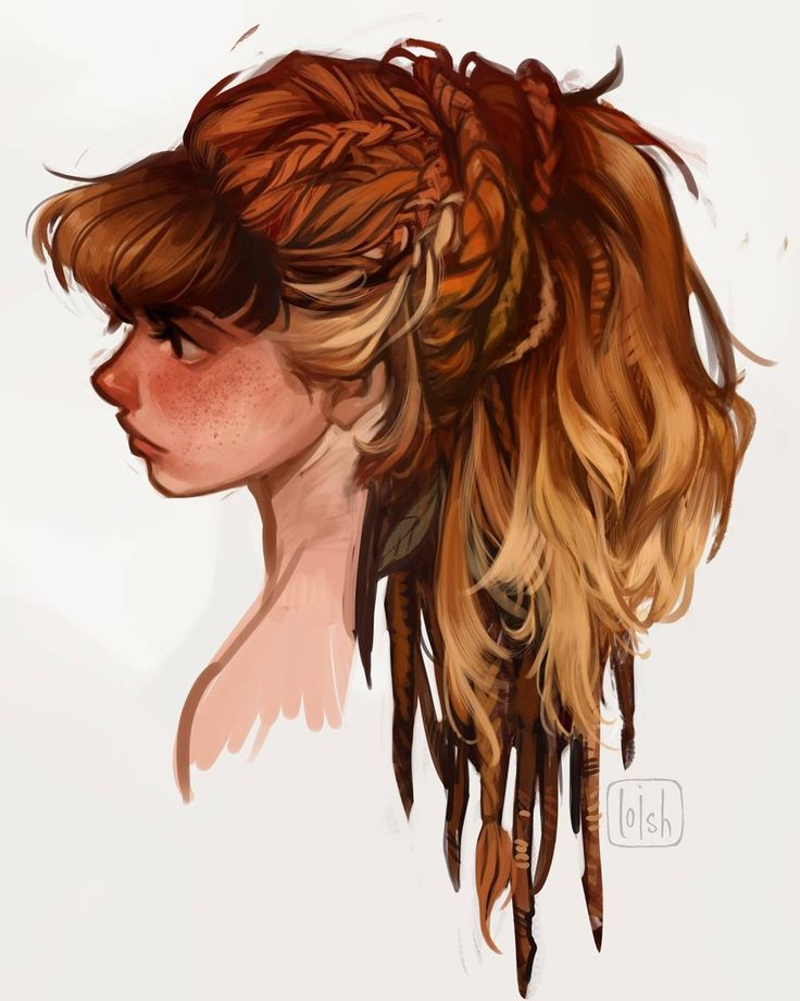 """42 mil Me gusta, 214 comentarios - loish (@loisvb) en Instagram: """"More concept art of Aloy, the lead character of Horizon: Zero Dawn! Together with the rest of the…"""""""