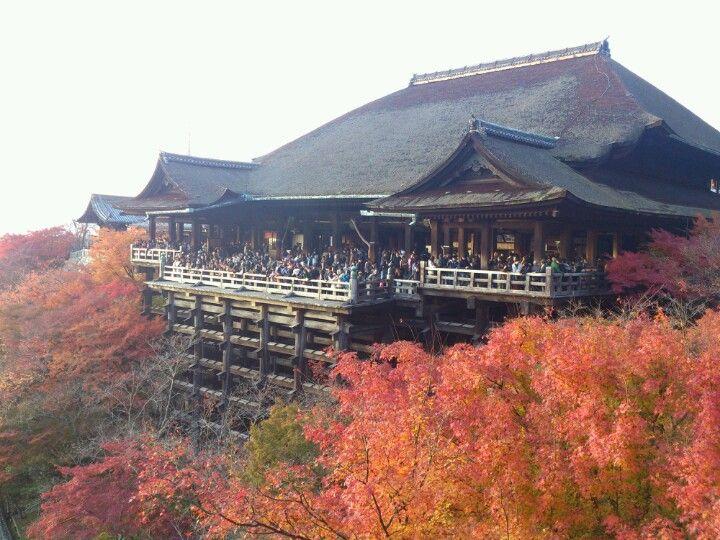 清水の舞台 (清水寺本堂) : 東山区, 京都府