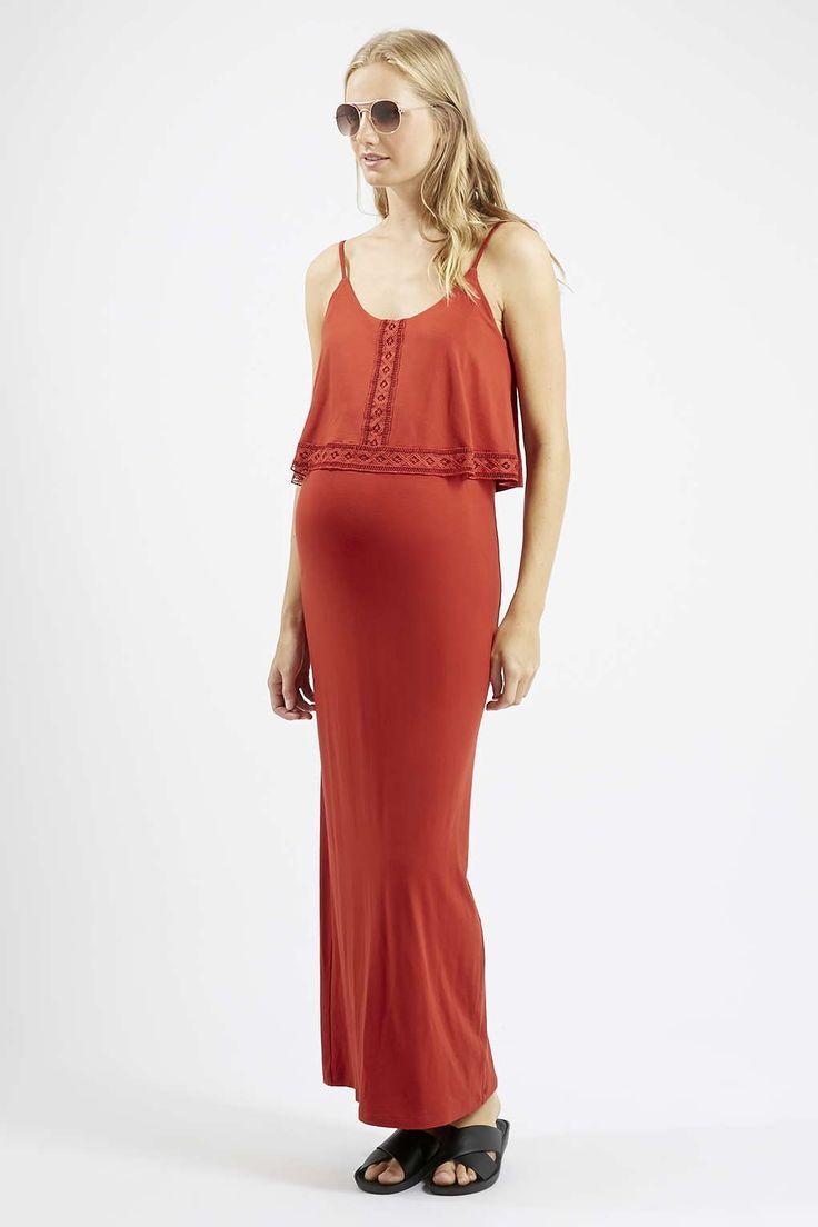 £32 Photo 2 of MATERNITY Overlay Maxi Dress