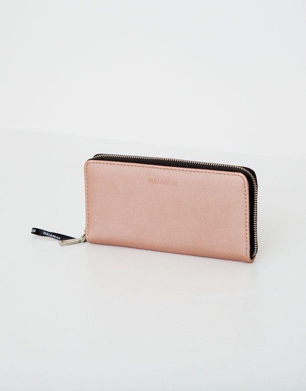 Portefeuille basic - Portefeuilles - Accessoires - Femme - PULL&BEAR France