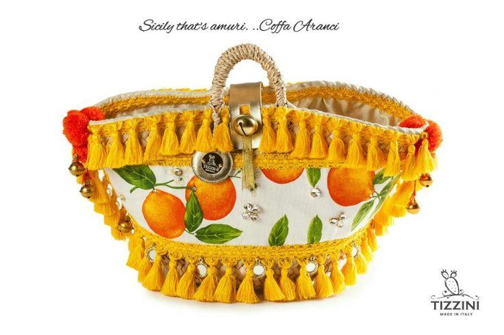 Coffa mare Aranci Shop online : www.Tizzini.com