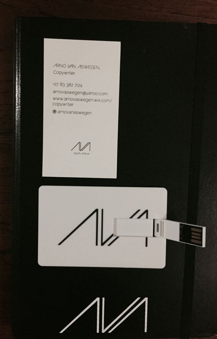 Business card, diary and flash disc