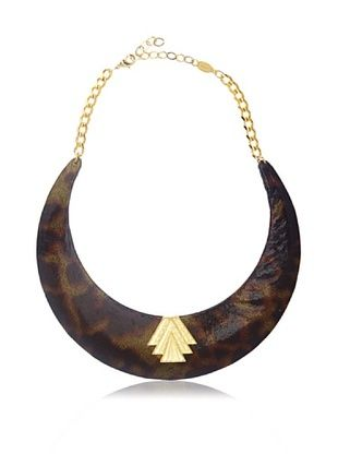 65% OFF a.v. max Tortoise Collar Necklace