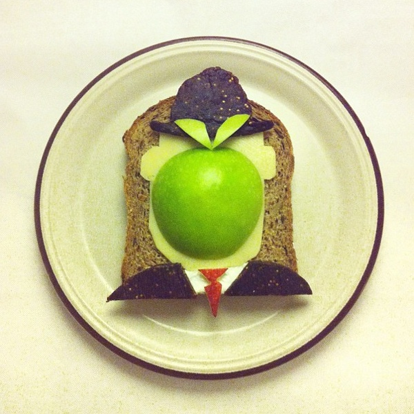 Magritte toast | Idafrosk