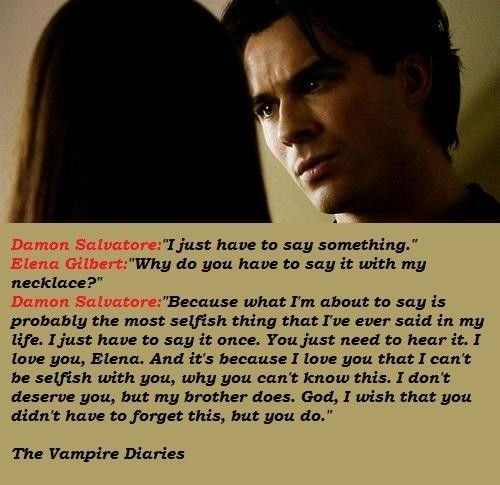 Vampire Diaries You Want A Love That Consumes You Quotes: #TVD Images On Pinterest
