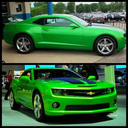 2013 chevy Camaro in Neon green  Cars  Pinterest  Neon Chevy