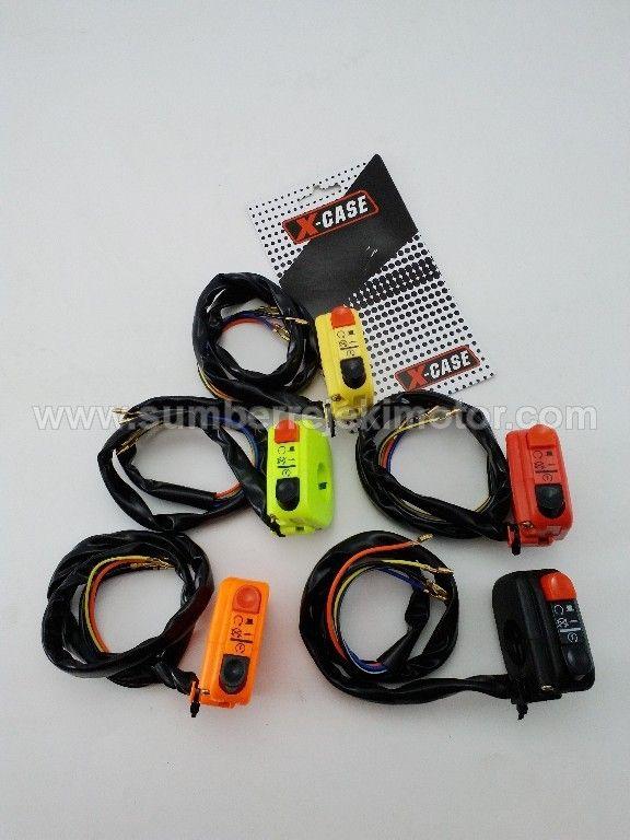Saklar X Case Kanan • Sumber Rejeki Motor | Olshop Bikers Aksesories & Sparepart Motor Pontianak