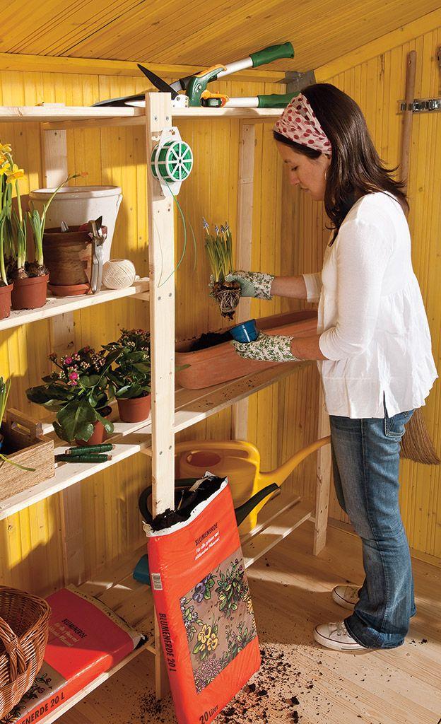 New Dank Montage Set ist das Ger tehaus aus Holz auch f r unge bte Heimwerker eine Leichtigkeit