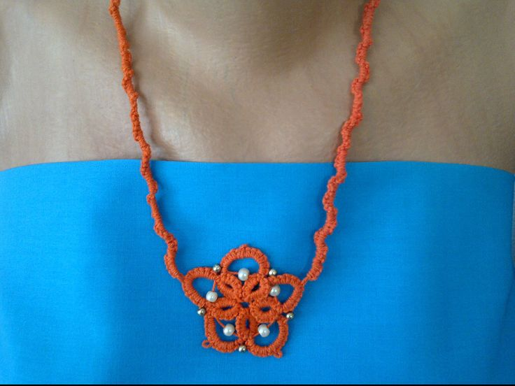 Neckless by SperoDesignsRomania on Etsy
