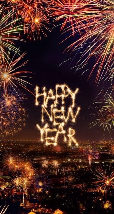 HAPPY NEW YEAR~jooripim:  Image via We Heart It❤️