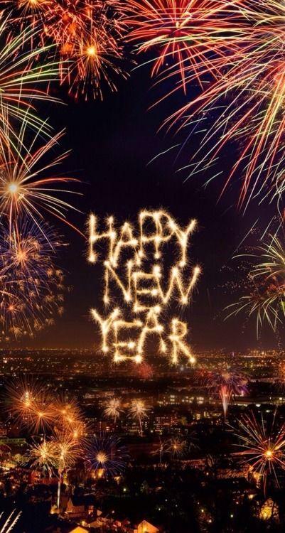 HAPPY NEW YEAR~jooripim: Image via We Heart It❤️