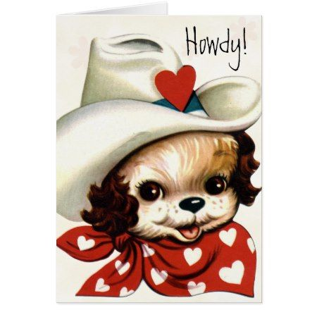 Retro Valentine Card for Kids - click/tap to personalize and buy