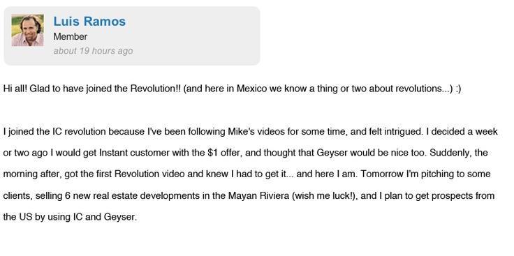 Instant Customer Revolution Testimonials #2