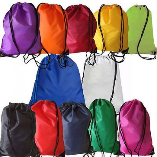 6 /12 Gym Swim School Dance Shoe Boot Pe Drawstring Bag Ideal 4 Sports&swimming Sports/ Bags