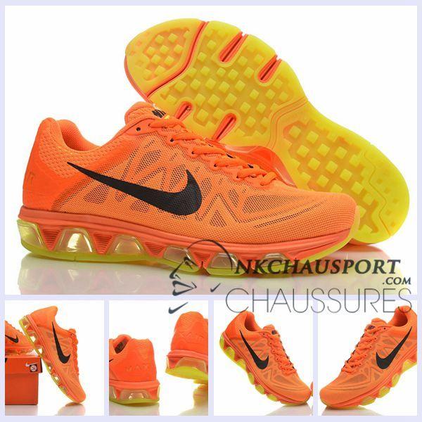 Nike Air Max 2010 | Meilleur Chaussures Running Homme Orange/Jaune