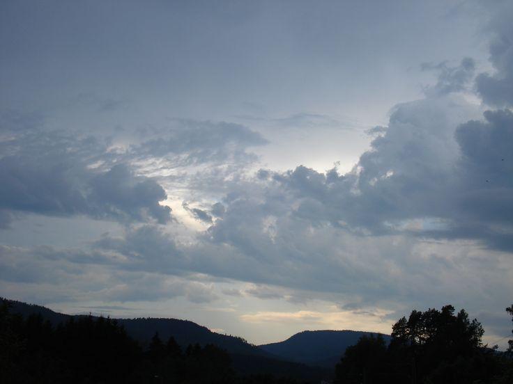 Sky after a thunderstorm. #sky #nature #thunderstorm