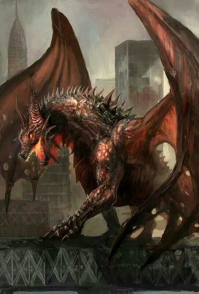 Beautiful dragon, don't know the artist...