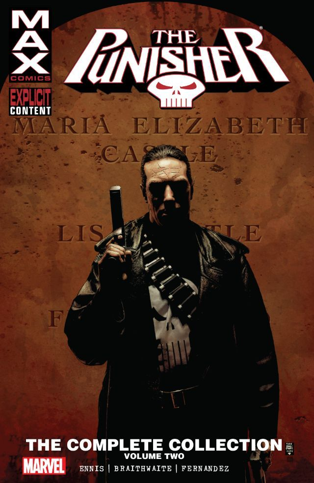 Punisher Max: The Complete Collection Vol. 2 #TPB #Marvel @marvel @marvelofficial #Punisher #Max (Cover Artist: Tim Bradstreet) Release Date: 3/23/2016