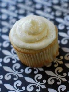new-orleans-wedding-cake-cupcakes3  (recipe using cake mix and frosting recipe included here)