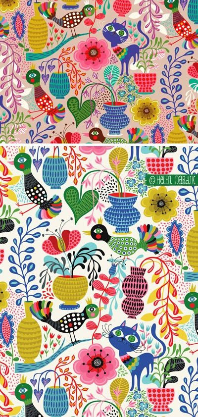 orange you lucky!: Sunroom in My Mind . . .another amazing pattern by Helen Dardik!
