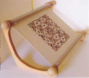 The Lap-Stitch Doodler Frame: Hand Embroidery, Hands Embroidery, Hands Fre Solutions, Crosses Stitches, Sca Crafts, Lap Stitches Doodler, Sca Stitches, Doodler Frames, Fabrics Belts