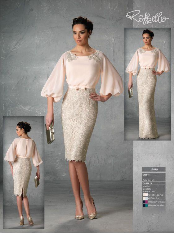 vestidos de madrina y fiesta raffaello en antonella novias | glamour