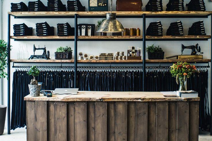 Jacobsen & Svart in shelves, Livid jeans