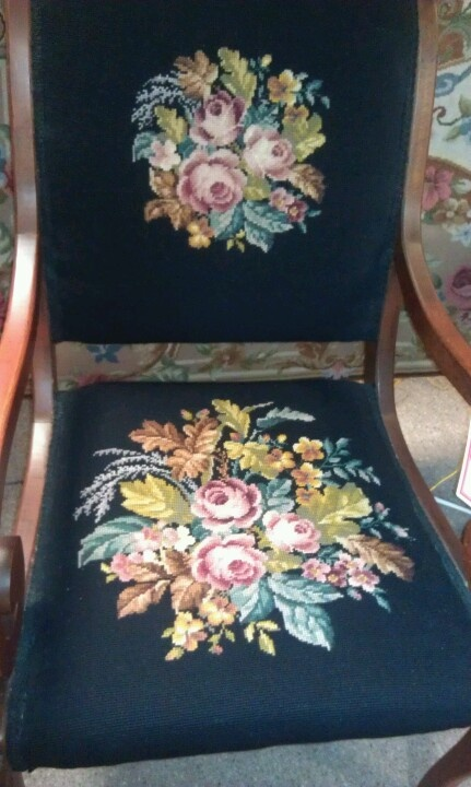 Beautiful chair in antique mall