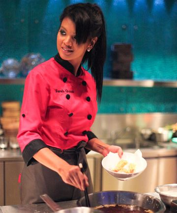 Celebrity Chef Farah Quinn   #Indonesian #celebrities http://livestream.com/livestreamasia