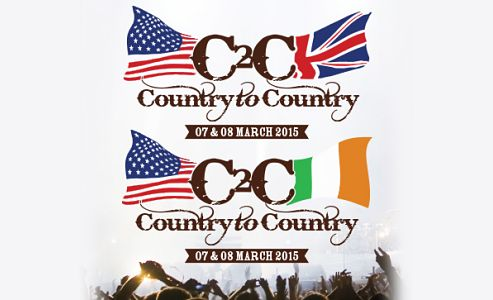 COUNTRY TO COUNTRY to feature Lady Antebellum, Luke Bryan, Florida Georgia Line, Brandy Clark, Jason Aldean, Brantley Gilbert and Kip Moore in the UK at London's O2 Arena and Ireland at the Dublin's 3arena in March 2015. Tickets on sale Friday 17th Oct -> http://www.allgigs.co.uk/click/countrytocountry