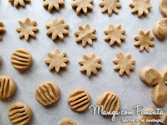 Biscoitos de Canela e Chocolate {Receitas de Natal
