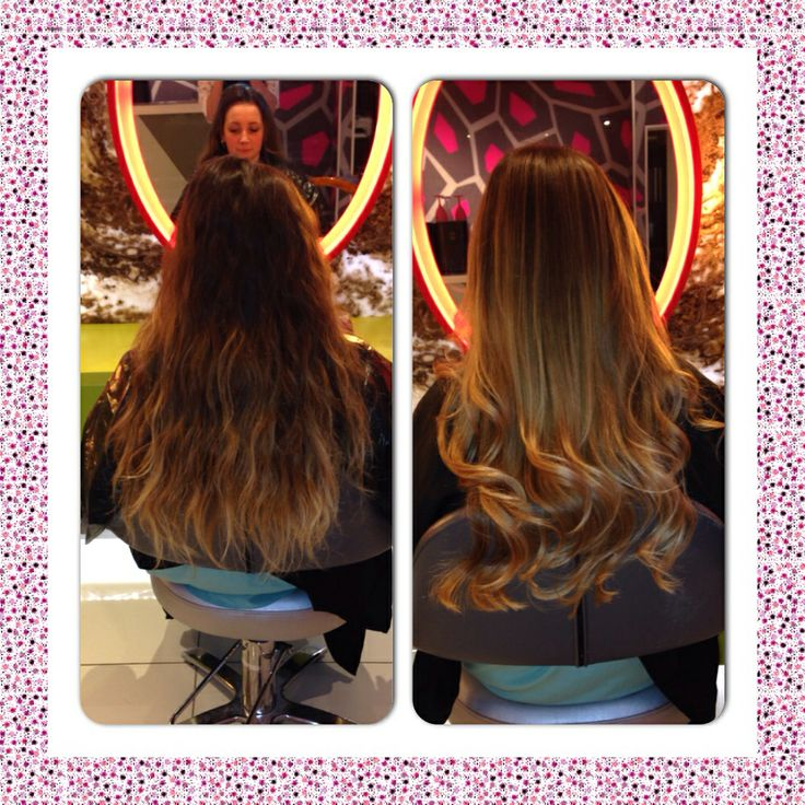 Fresh balayage + pillowproof blowdry #redken obsessed #styleclub