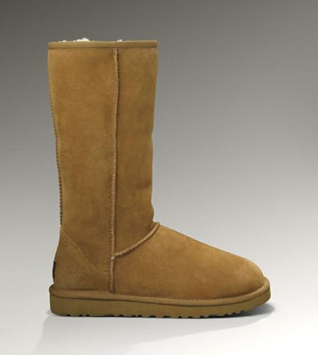 UGG Classic Tall 5815 Chestnut For Sale In UGG Outlet Save more than $100, Free Shipping, Free Tax, Door to door delivery