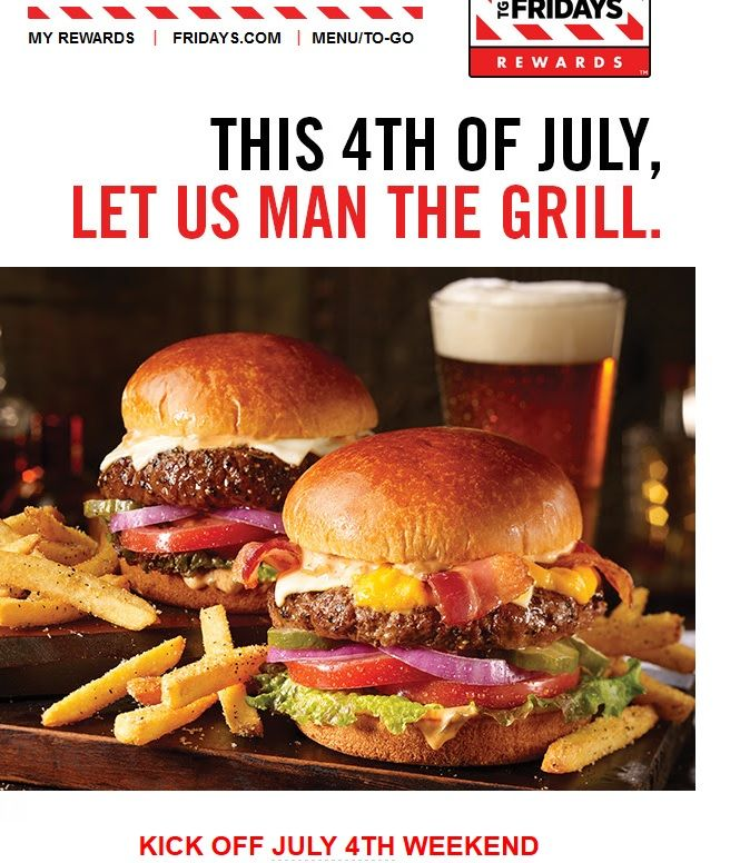 Fuck You TGI Fridays. Don't tell me what to do. #grilling #BBQ #Deals #recipes #discounts #summer #foodie #food #recipe #free