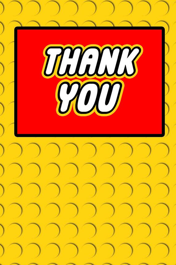 ... | Lego | Pinterest | Building & Blocks, Thank You Cards and Building