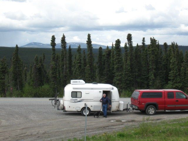 Meet Daisy our Casita Trailer, and home as we travel to Canada, Alaska, and through the US.  We purchased Daisy in 2012 using Craig's List.  It was a gently used 2001 model. Bill did...