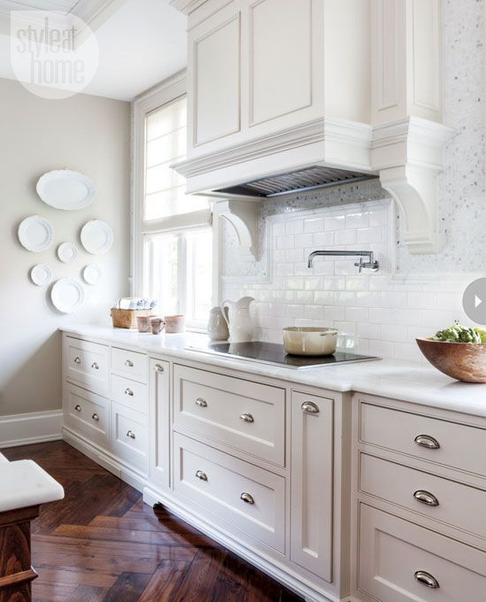 The Very Right Of White Kitchens: Shaker Cabinets, White Shaker Cabinets And Countertops