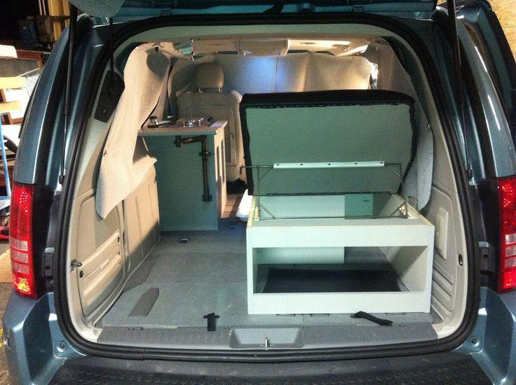 micro minivan transit connect campervan builds camper. Black Bedroom Furniture Sets. Home Design Ideas