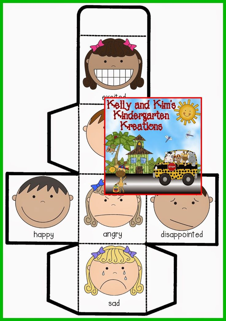 Emotions Cube Game FREEBIE....fun way to incorporate several math skills in a cooperative learning math game!