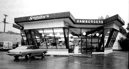 Sandy's Hamburger Stand -  Sheridan Road, Peoria, Illinois