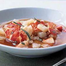 Ragoût de homard du Nouveau-Brunswick
