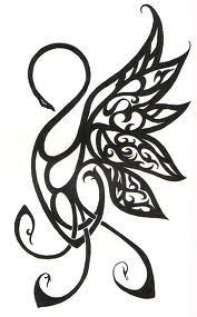 Image result for celtic swan tattoo