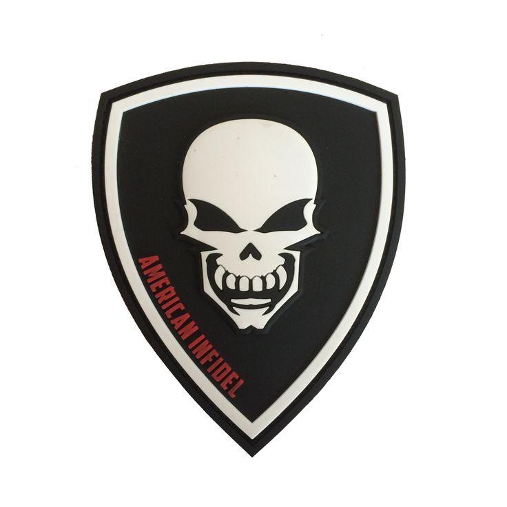 AMERICAN INFIDEL SHIELD PVC PATCH   Tactical Outfitters