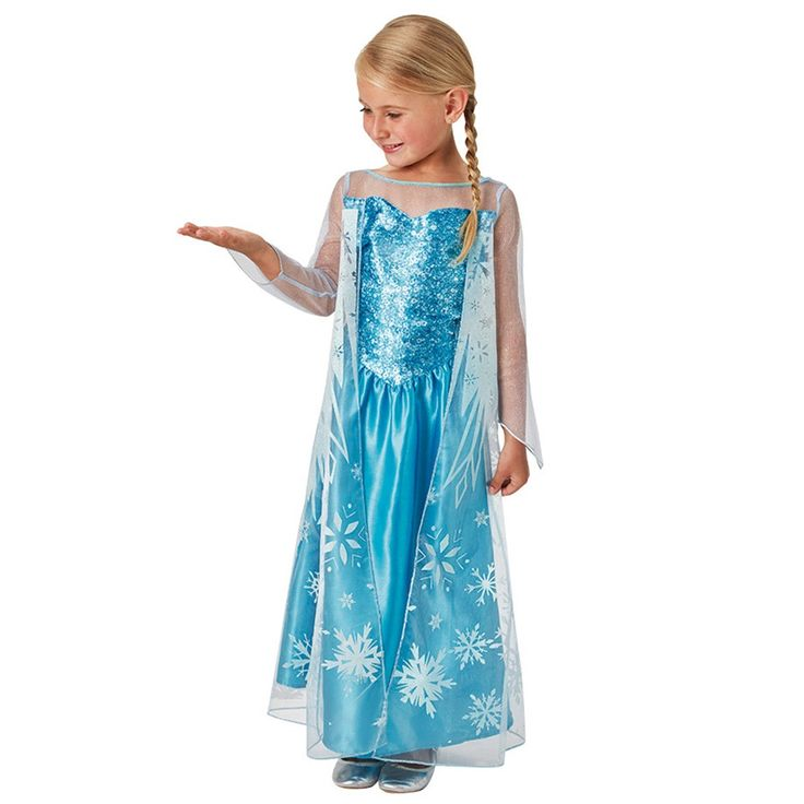 Disfraz Elsa Frozen Infantil - Comprar Online {Miles de Fiestas}