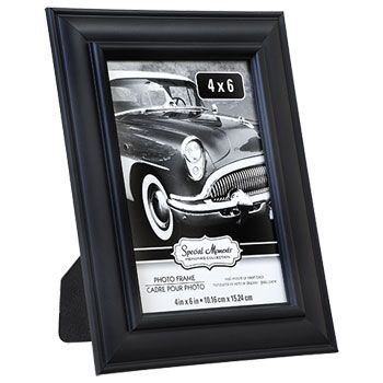 Bulk Special Moments Beaded Outer Edge Black Plastic Picture Frames, 4x6 in. at DollarTree.com