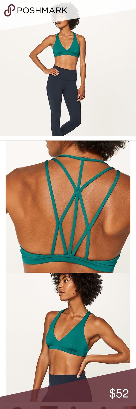 Lululemon Raise the Barre sports bra size 4 Brand new with tags, except I accidentally ripped off the size 4 tag on the bra (see pic). Just bought this without trying it on and accidentally threw away the receipt 🙄 🤦🏻♀️.  I'm always a size 4 in the Free to Be bras so I assumed I would be the same size in this one, but it's a size too big and now I can't return it 😞. I'm a 32B for size reference.  Bundle and save!! lululemon athletica Other